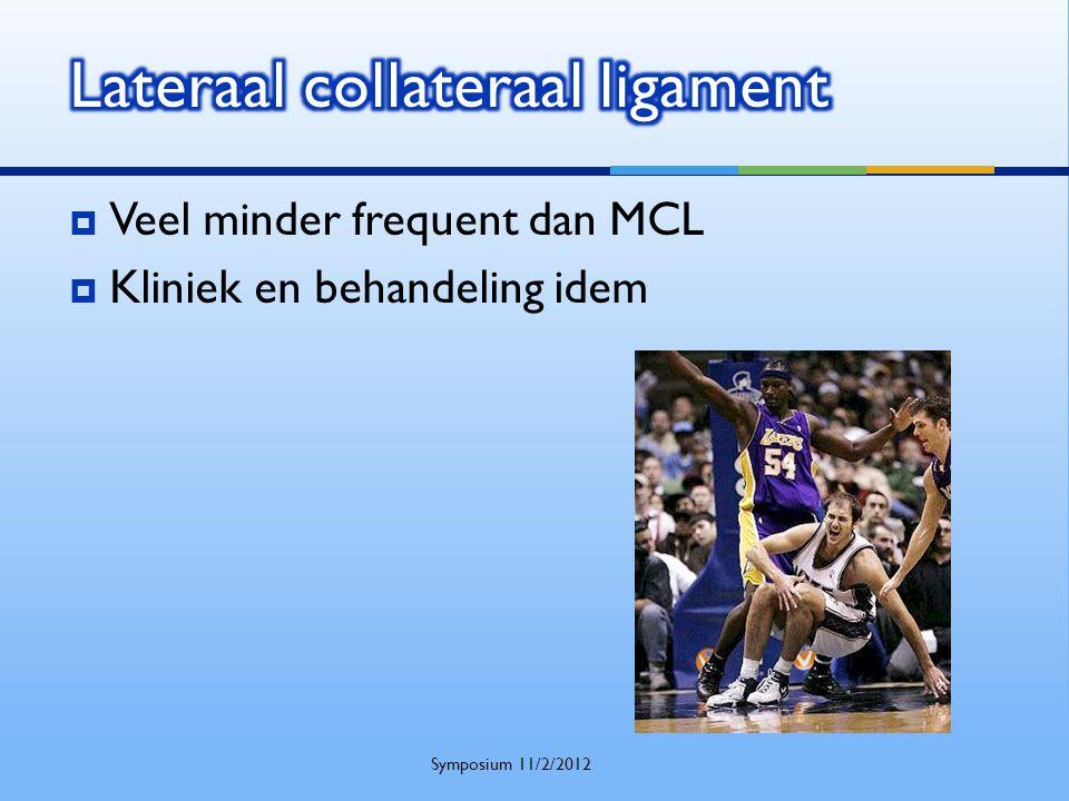  Veel minder frequent dan MCL  Kliniek en behandeling idem Symposium 11/2/2012