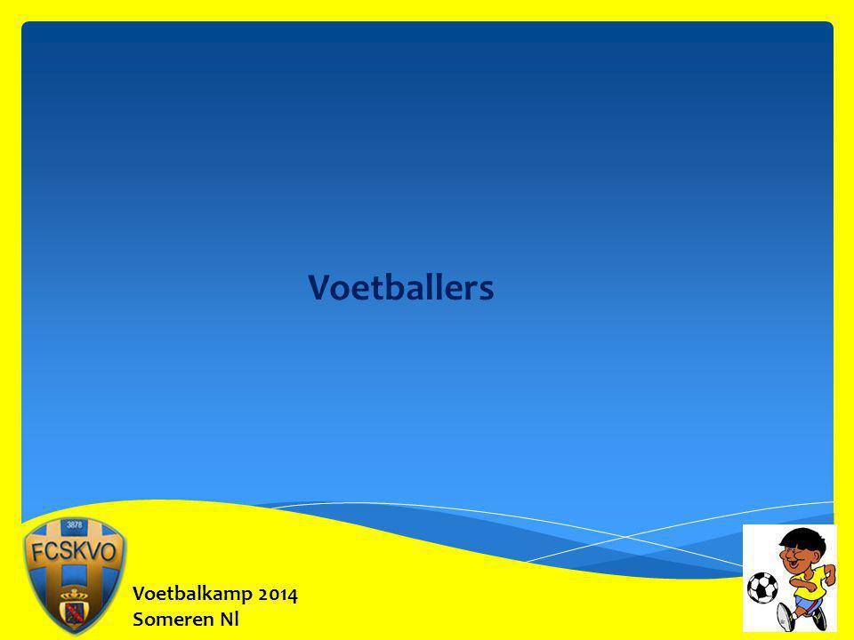 Voetbalkamp 2014 Someren Nl Voetballers