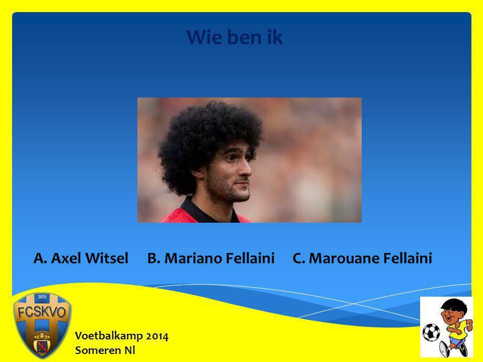Voetbalkamp 2014 Someren Nl Onze Bondscoach Hoeveel matchen speelde hij bij de Rode Duivels .