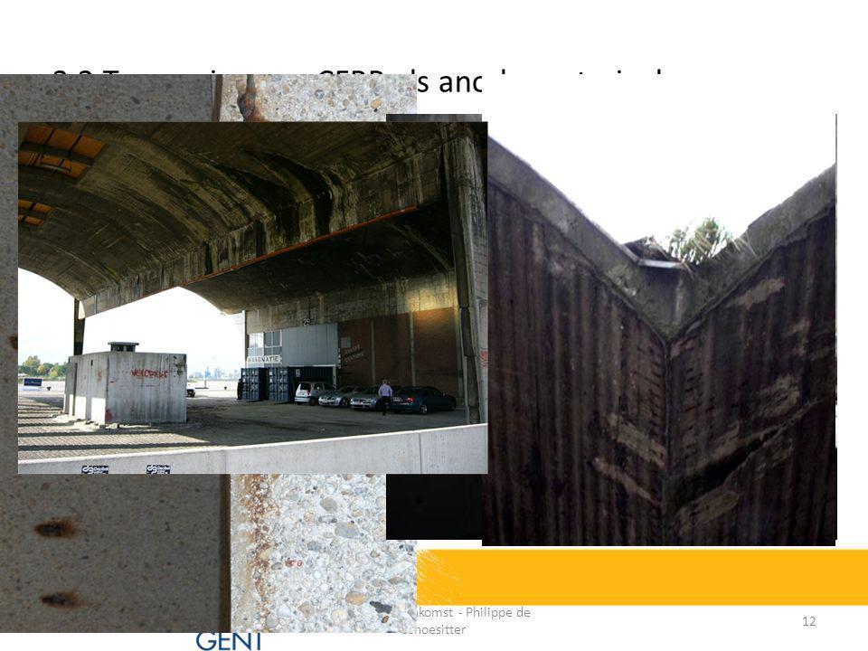 Interesse in combinatie vanuit verschillende perspectieven:  CFRP EBR heeft positieve invloed op corrosie (zgn.