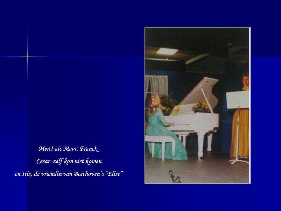 Anna Magdalena Bach …Wat moest Marieke vaak passen!