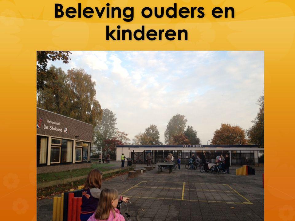 Beleving ouders en kinderen Beleving ouders en kinderen