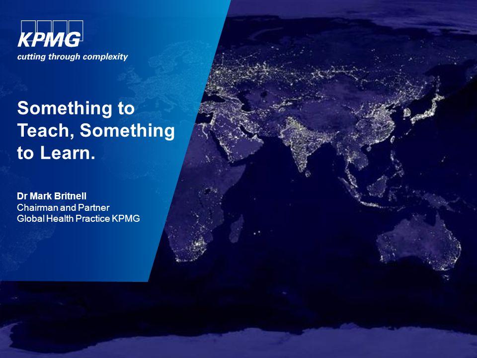 22 © 2013 KPMG Advisory N.V., ingeschreven bij het handelsregister in Nederland onder nummer 33263682, is een dochtermaatschappij van KPMG Europe LLP en lid van het KPMG-netwerk van zelfstandige ondernemingen die verbonden zijn aan KPMG International Cooperative ('KPMG International'), een Zwitserse entiteit.