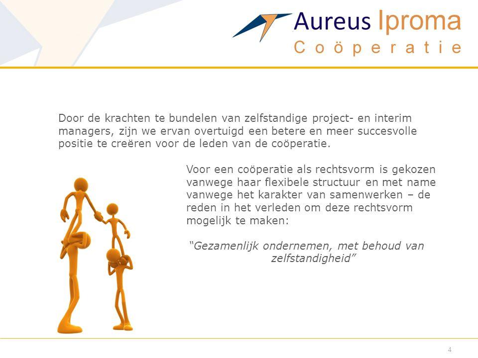 5  Wat doet het netwerk.Aureus Iproma Coöperatie brengt mensen samen.