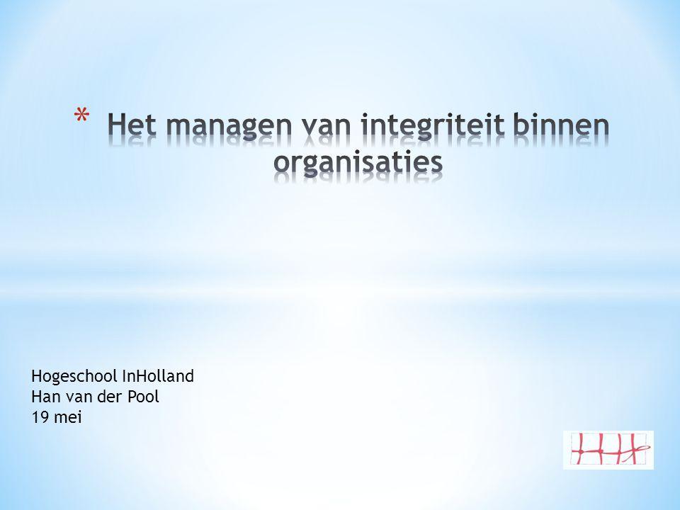 Hogeschool InHolland Han van der Pool 19 mei