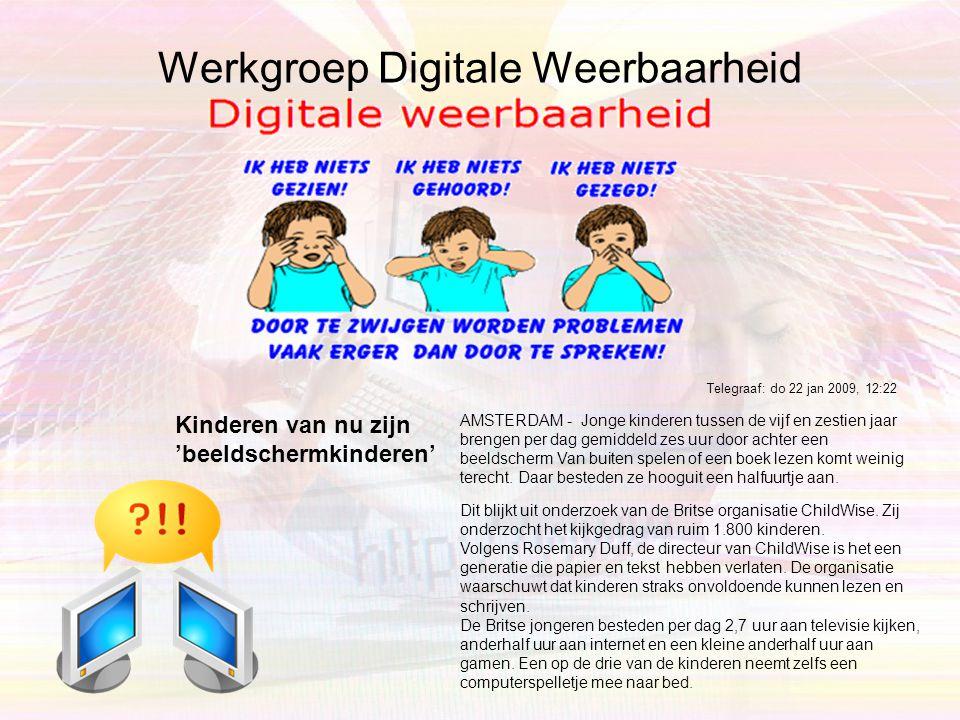 Digitale voetafdruk •Mediawijs Aandacht voor de werking en invloed van media speelt al jaren een rol in het onderwijs. Eerst heette dit media-educatie