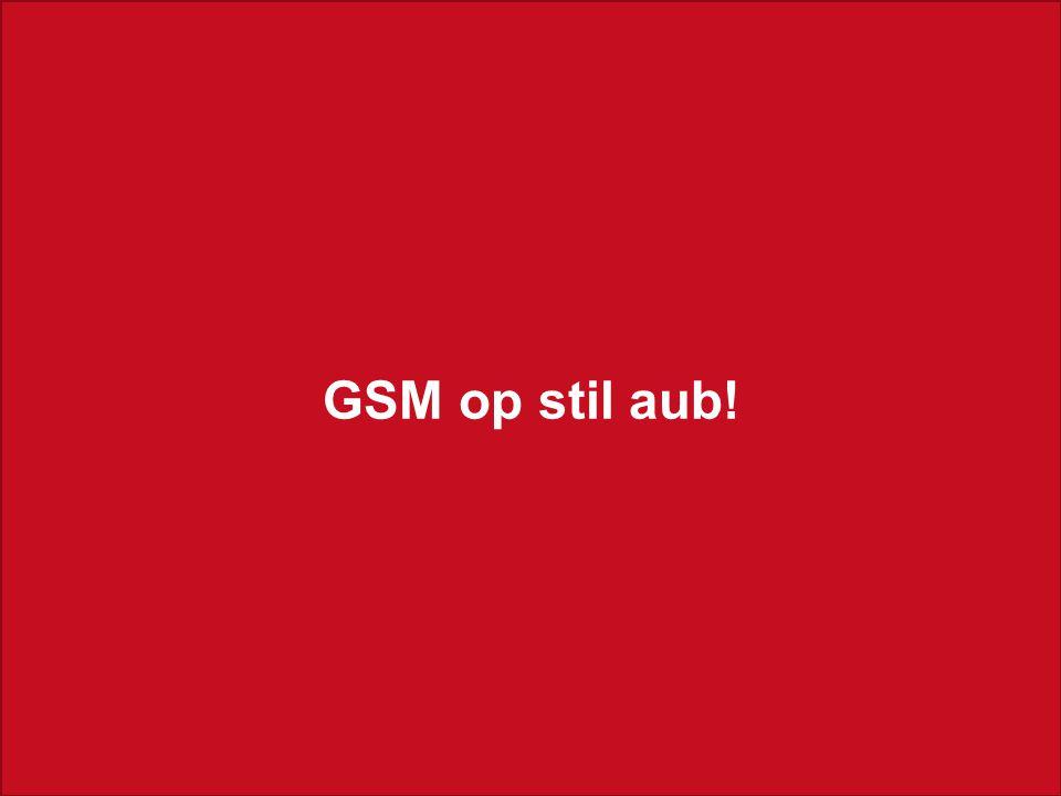 U. Adriaenssens Rode Kruis-Hoboken Jaarvergadering 2012 Jaarverslag 2011 GSM op stil aub!