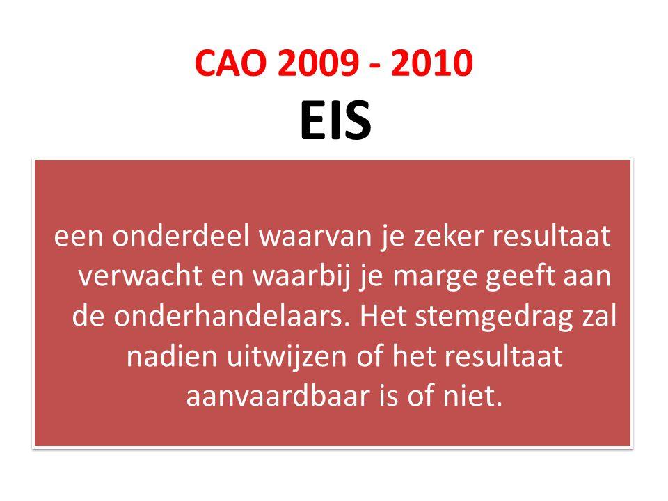 CAO 2009 - 2010 EIS