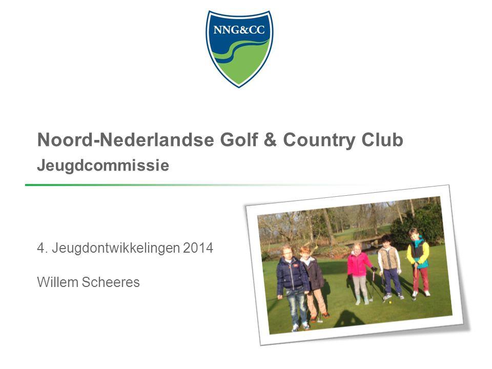 Noord-Nederlandse Golf & Country Club Jeugdcommissie 4. Jeugdontwikkelingen 2014 Willem Scheeres