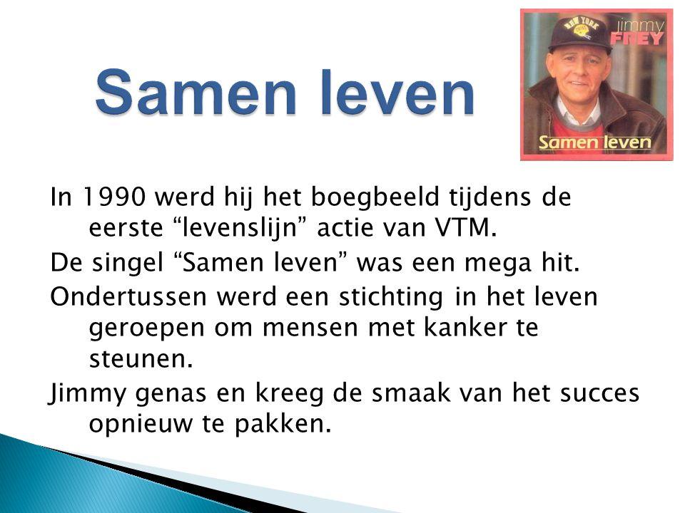 In 1990 werd hij het boegbeeld tijdens de eerste levenslijn actie van VTM.