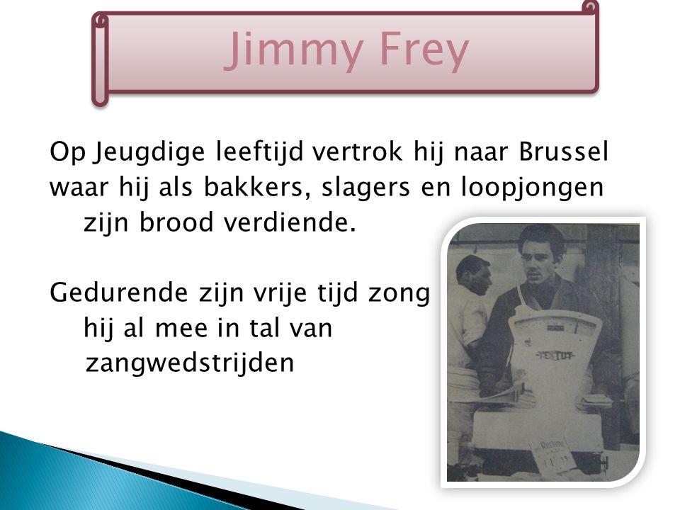 In 1958 zong hij zelfs in de zangwedstrijd naar aanleiding van de Expo in Brussel waar hij als winnaar eindigde.