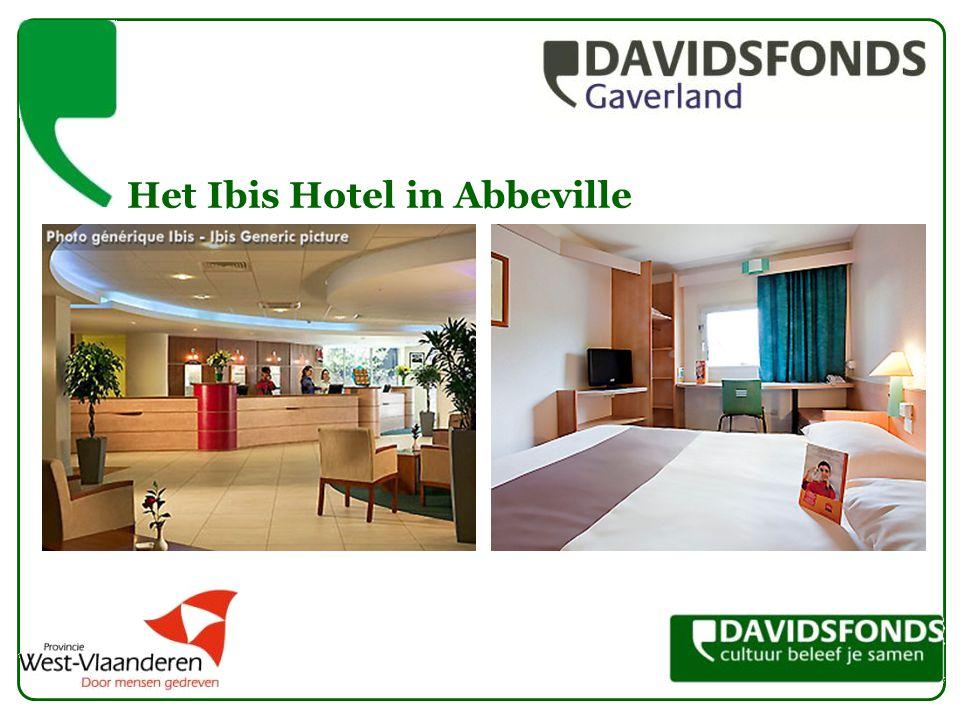 Het Ibis Hotel in Abbeville