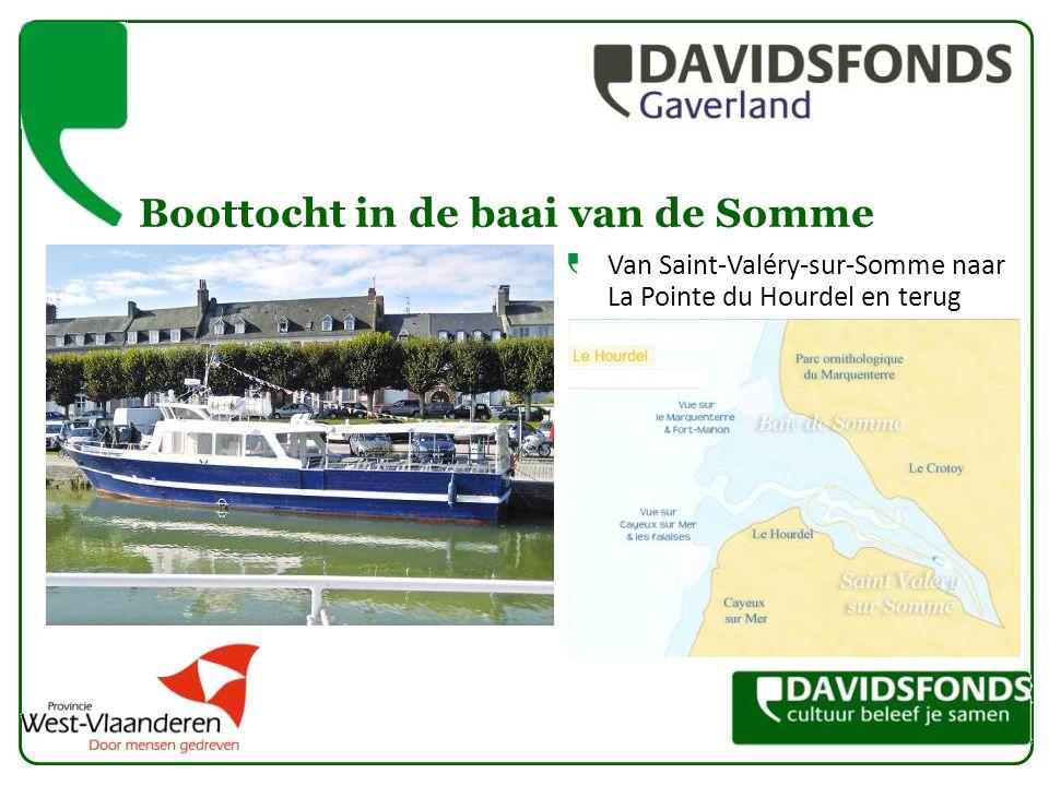 Boottocht in de baai van de Somme Van Saint-Valéry-sur-Somme naar La Pointe du Hourdel en terug