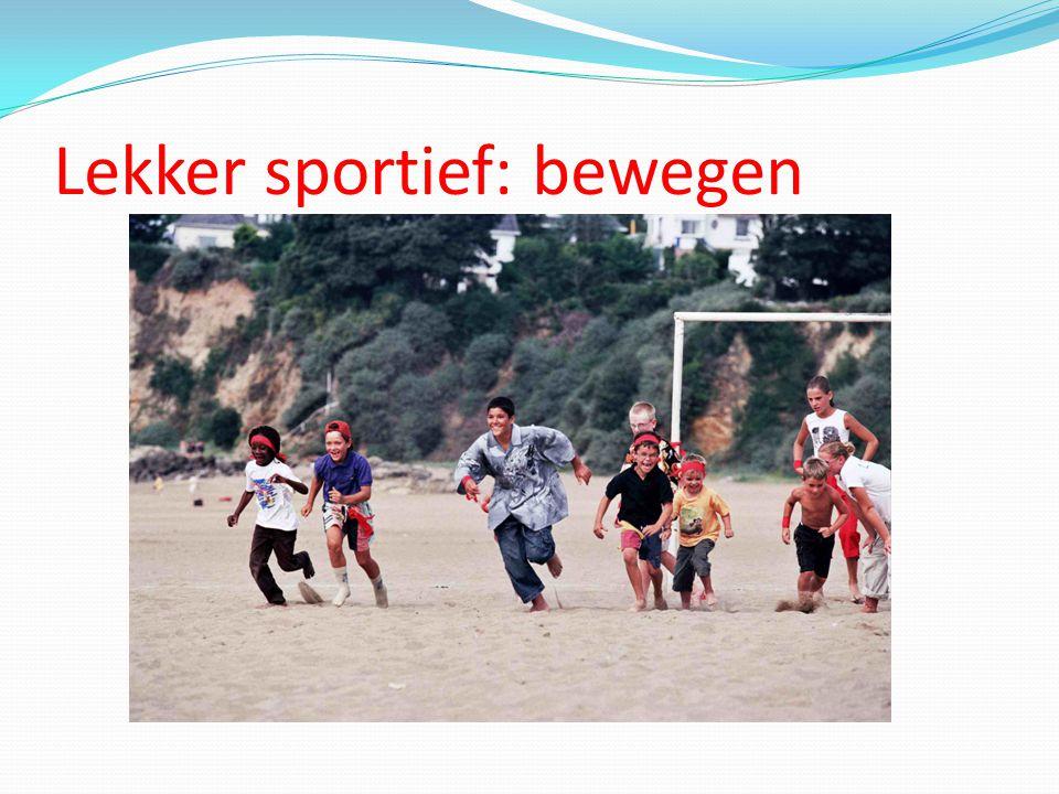 Lekker sportief: rennen