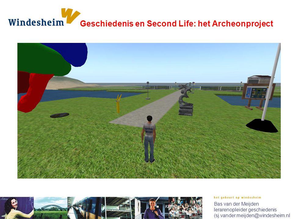 Bas van der Meijden lerarenopleider geschiedenis (sj.vander.meijden@windesheim.nl