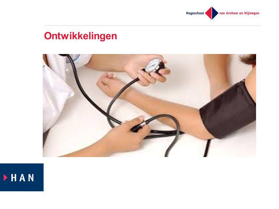  Vergrijzing  Chronische zieken  Van Ziekte naar Gezondheid  Zelfmanagement / Zelfregie  Stelselwijzigingen  Arbeidsmarkt / capaciteit