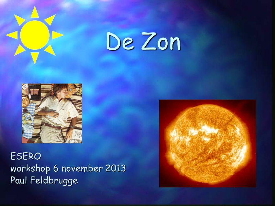 De Zon ESERO workshop 6 november 2013 Paul Feldbrugge Ele