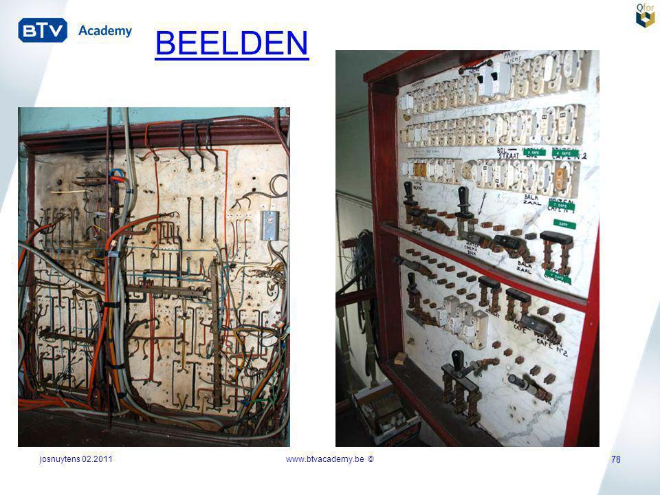 josnuytens 02.2011 78 www.btvacademy.be © BEELDEN