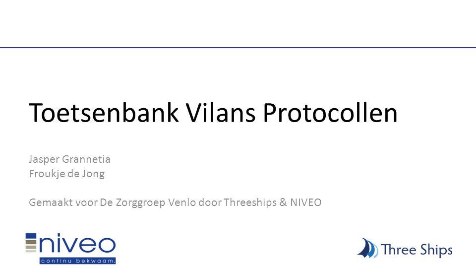 Toetsenbank Vilans Protocollen Jasper Grannetia Froukje de Jong Gemaakt voor De Zorggroep Venlo door Threeships & NIVEO
