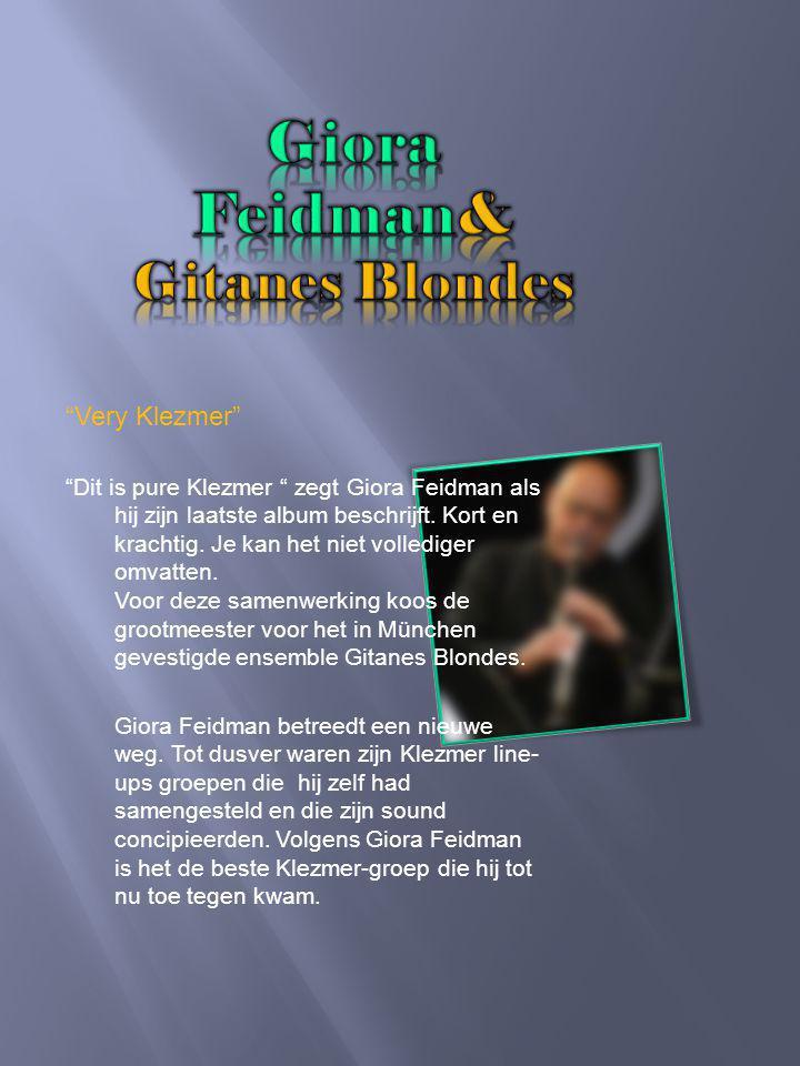 Giora Feidman Een levend stukje van de muziekgeschiedenis van meer dan 50 jaar dat is in het kort Giora Feidman.