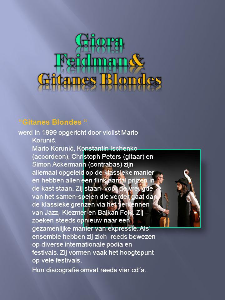 Very Klezmer Dit is pure Klezmer zegt Giora Feidman als hij zijn laatste album beschrijft.