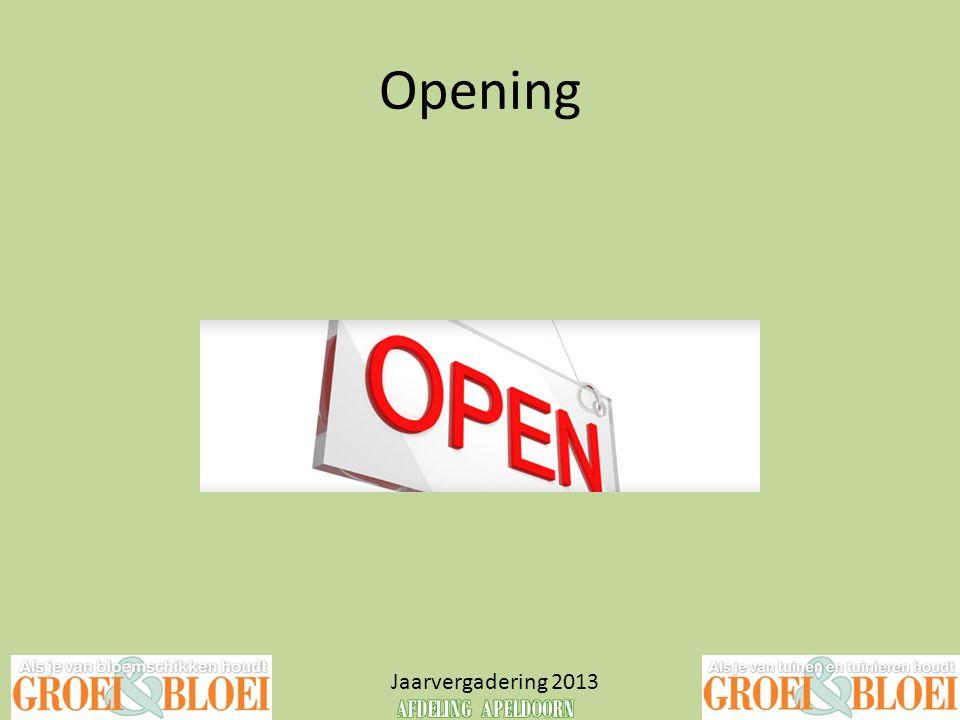 Agenda Jaarvergadering 2013 1.Opening 2.Vaststellen agenda 3.Verantwoording over 2012 4.Plannen 2013-2018 a.