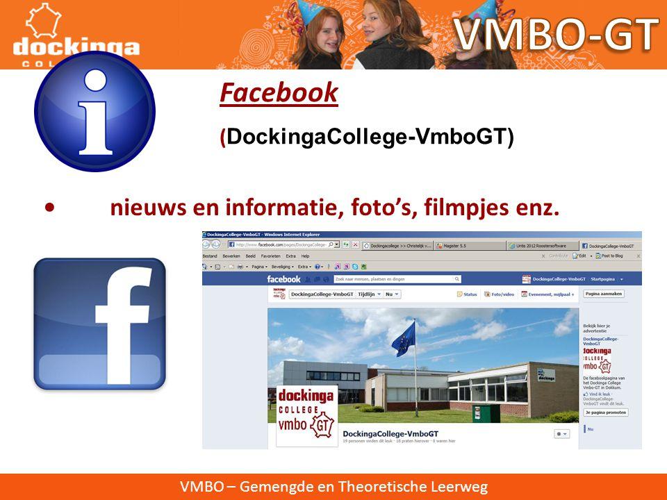 VMBO – Gemengde en Theoretische Leerweg • Nieuwsbrieven • 4 keer per jaar • Verspreiding op papier en mail.