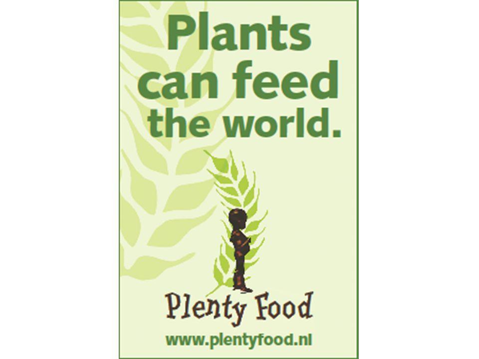Vlees maakt de rijken ziek, de armen hongerig en de dieren slachtoffer Lezing 18 januari 2009 door Victor Hooftman, voorzitter Plentyfood.