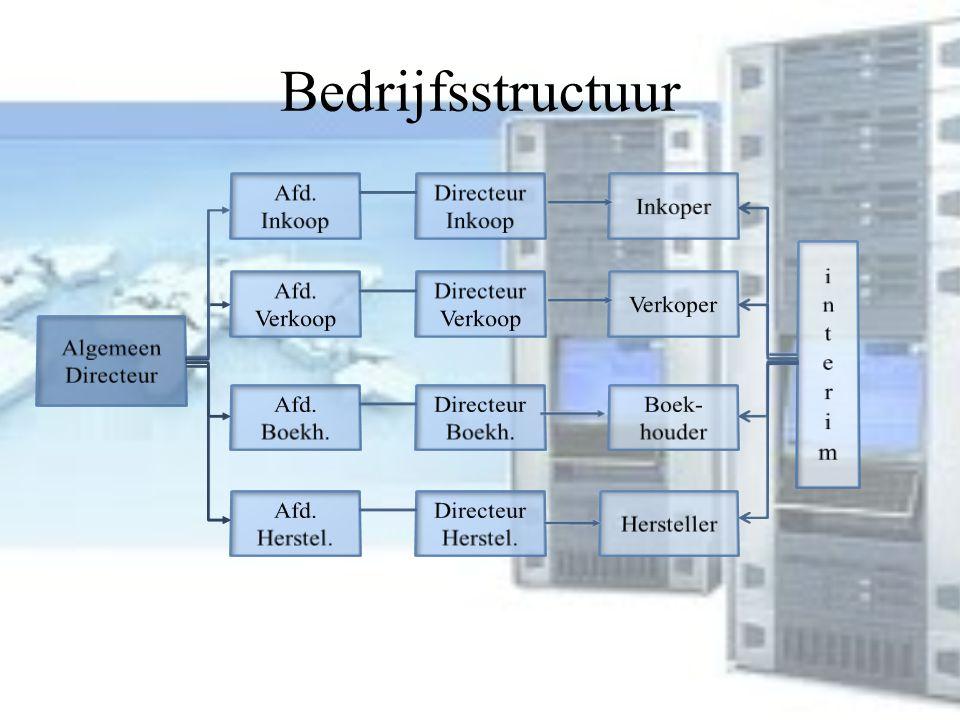 Bedrijfsstructuur