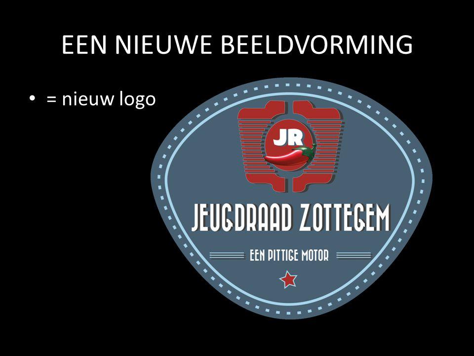 EEN NIEUWE BEELDVORMING • = nieuw logo