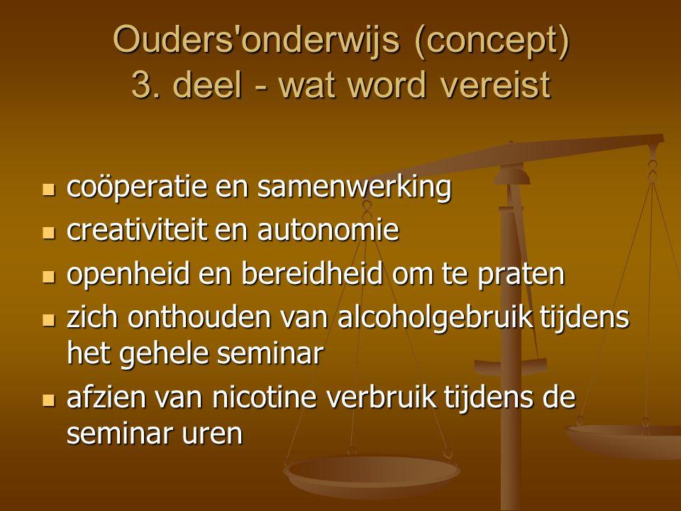 Ouders onderwijs (concept) 4.