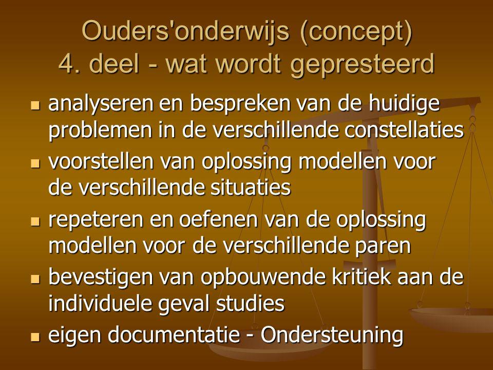 Ouders onderwijs (concept) 5.