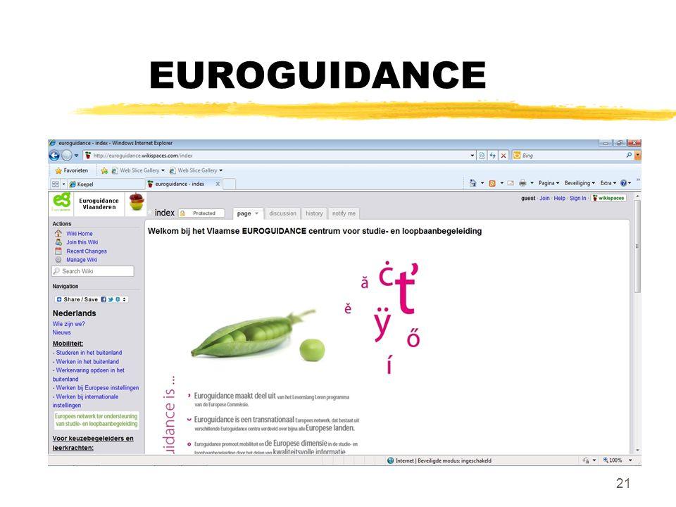 EUROGUIDANCE 21