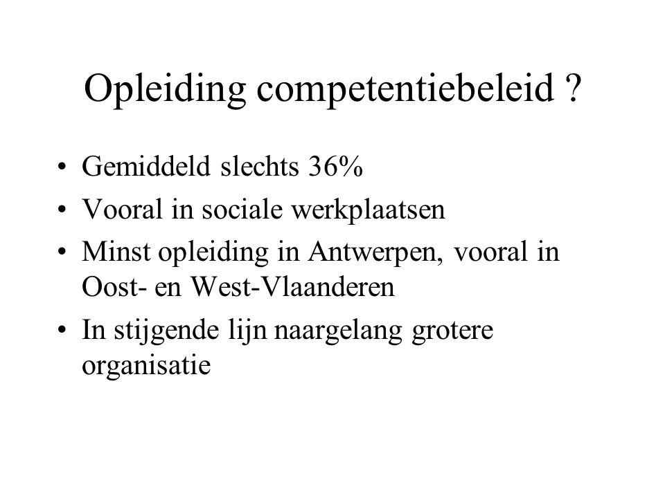 Opleiding competentiebeleid .