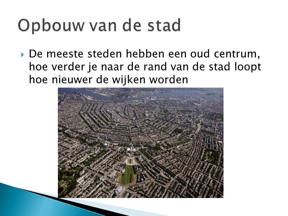  Waar hebben we het de vorige les over gehad?  Hoe is de leefbaarheid in de stad te verbeteren?
