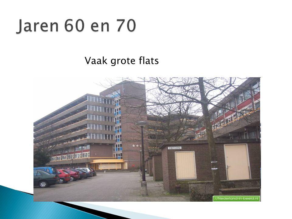 Vaak grote flats