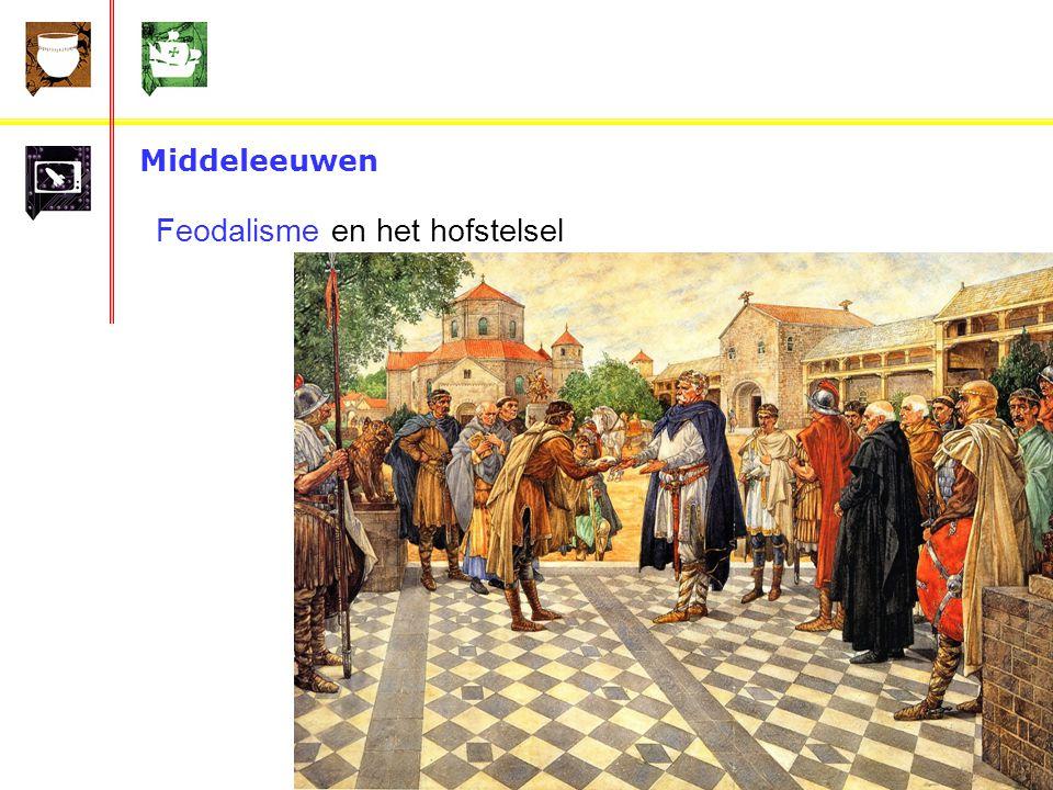 Middeleeuwen Feodalisme en het hofstelsel De eerste grote koning in de middeleeuwen was Karel de Grote.