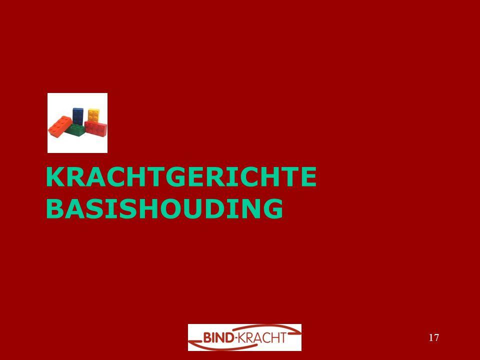 KRACHTGERICHTE BASISHOUDING 17