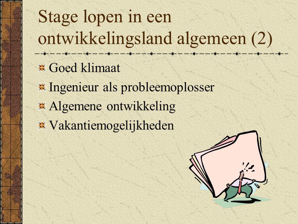 Opdrachten CICAT (Centrum voor internationale samenwerking) van de TU http://www.cicat.tudelft.nl http://www.cicat.tudelft.nl Nuffic http://www.wilweg.nlhttp://www.wilweg.nl DerdejaarsPracticumOpdrachtDataBase (nog niet operationeel)
