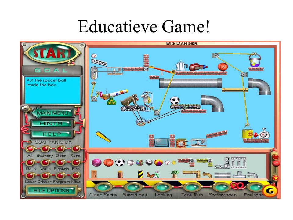Educatieve Game!