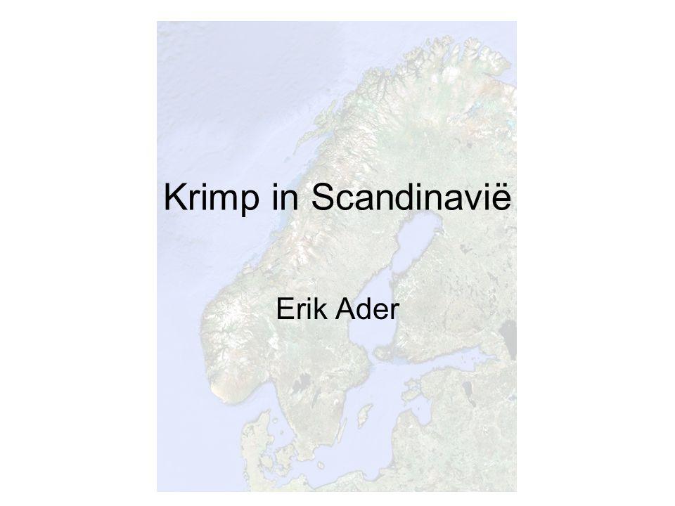 Krimp in Scandinavië Erik Ader