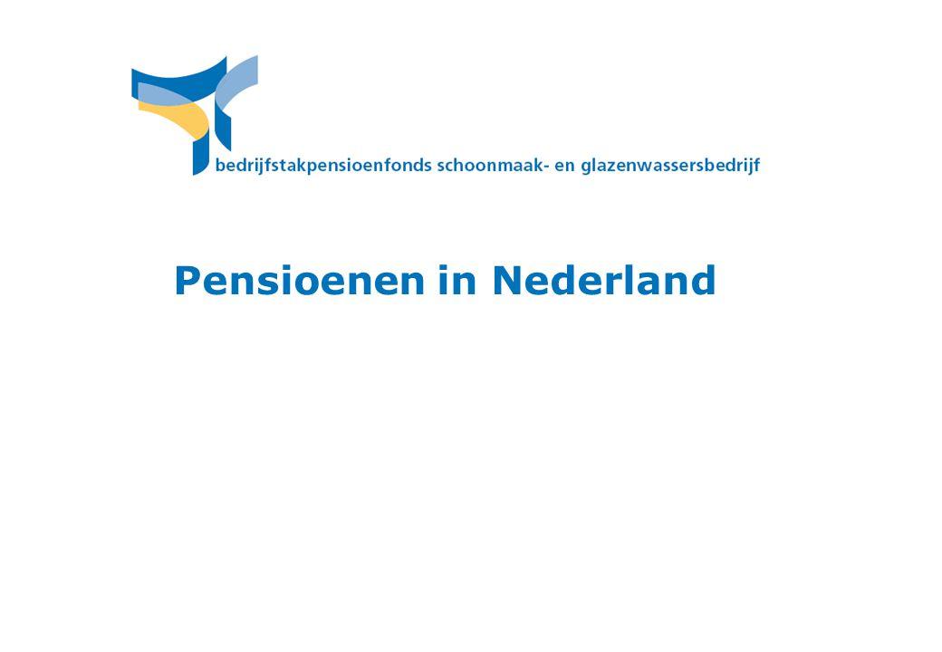 Pensioenen in Nederland