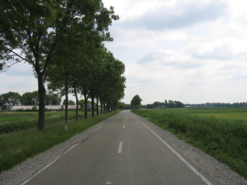 Fietsers in het buitengebied •Aanpak Landerd: –Integratie fietsbeleid met ontwikkeling 60 km/h gebieden