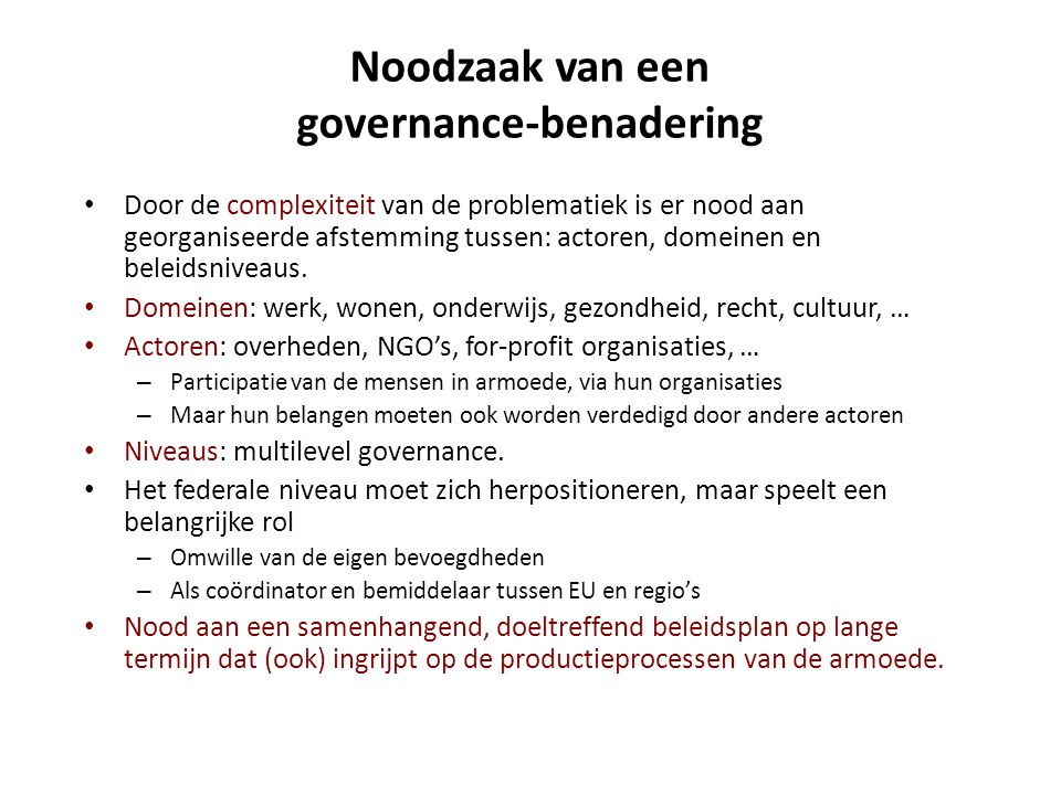 Armoede in België 3.