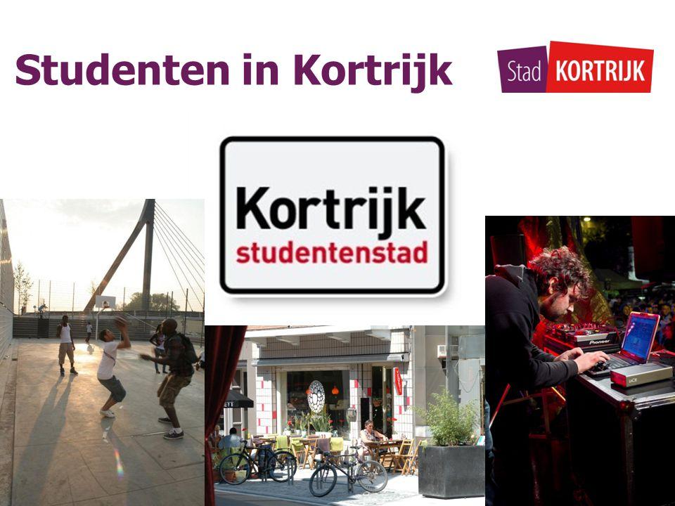Studenten in Kortrijk Beleid  acties & activiteiten SAMENWERKINGSVERBAND KORTRIJK STUDENTENSTAD Cel Onderwijs   Stuvo Katho   Stuvo Kulak   Stuvo Howest MIDDELEN ?
