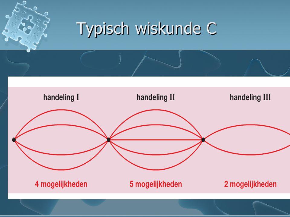 Typisch wiskunde C