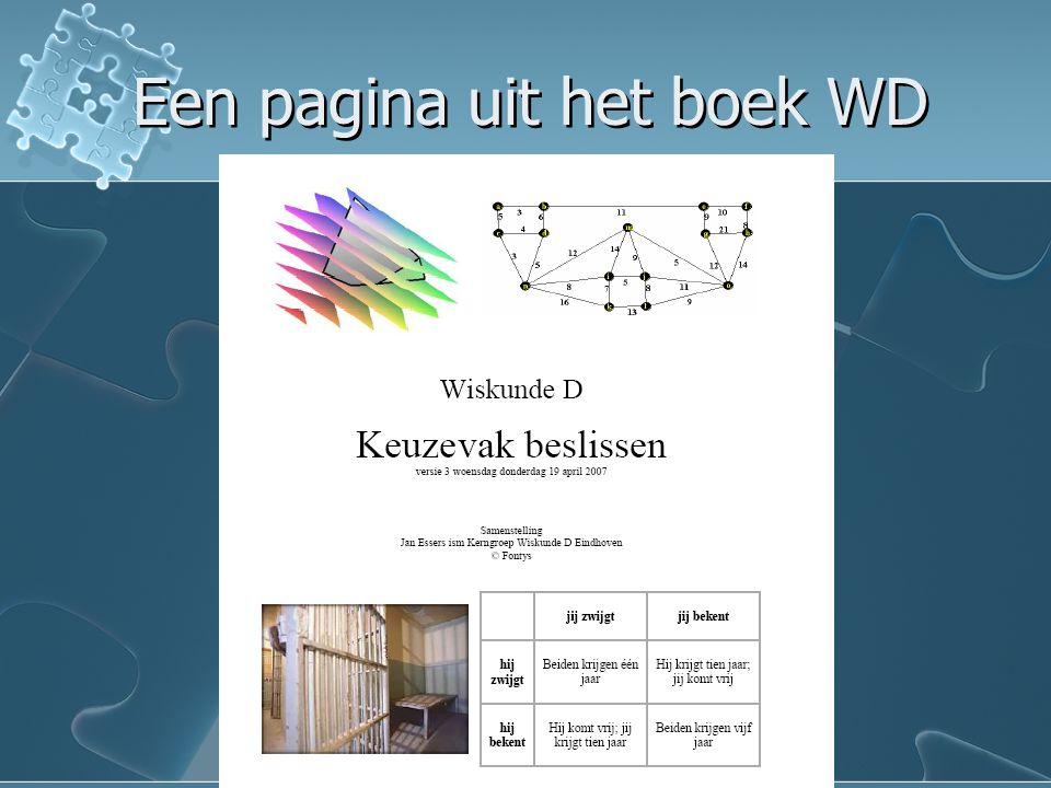 Een pagina uit het boek WD