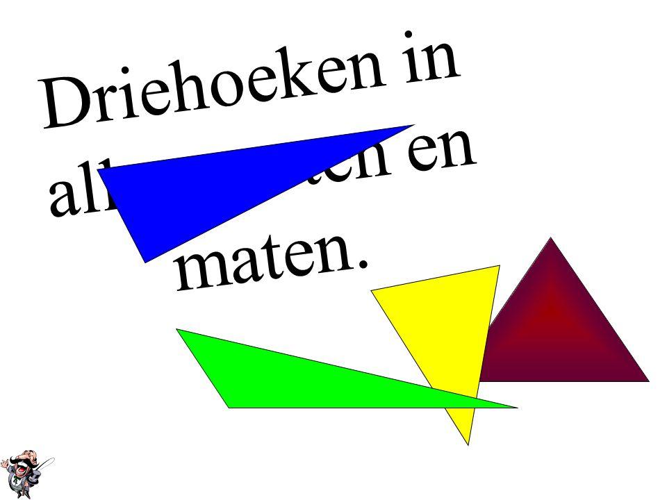 • Driehoeken Driehoeken •Soorten driehoeken & rekenen met hoekenSoorten driehoeken & rekenen met hoeken •Rekenvoorbeelden Hoekensom-regelRekenvoorbeel