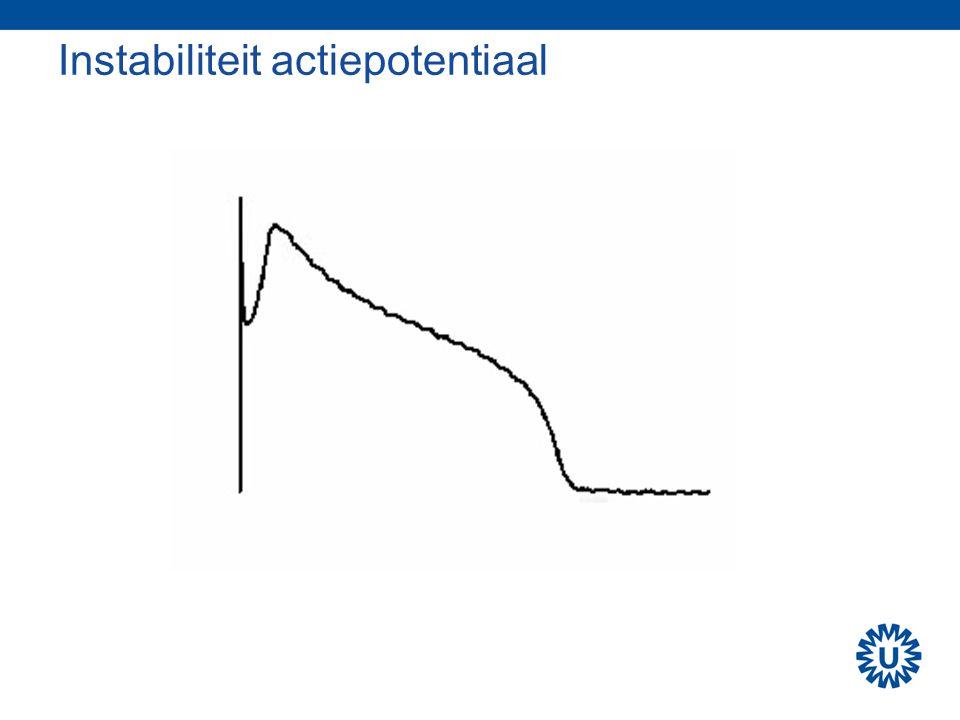 Instabiliteit actiepotentiaal