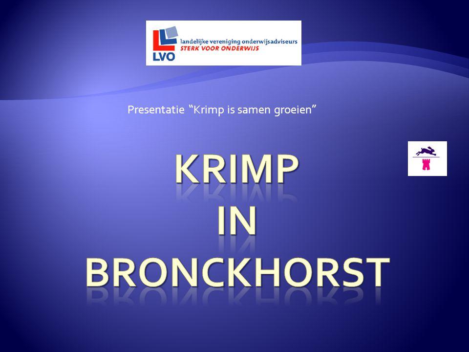 """Presentatie """"Krimp is samen groeien"""""""